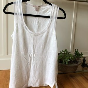 Banana Republic Linen Tank Top